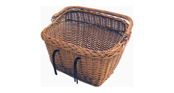 Basil Dublin Koszyk rowerowy prostokątny brązowy